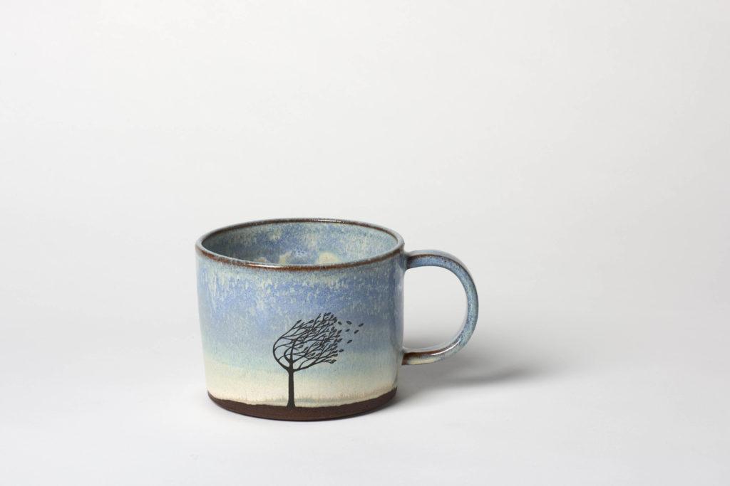 Wide Windy Tree Mug,~10 x 7cm,  £26 + postage