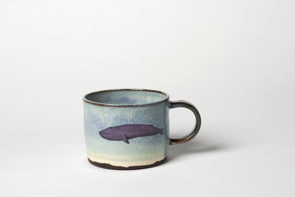 Blue Whale Mug, ~10 x 7cm, £26 + postage