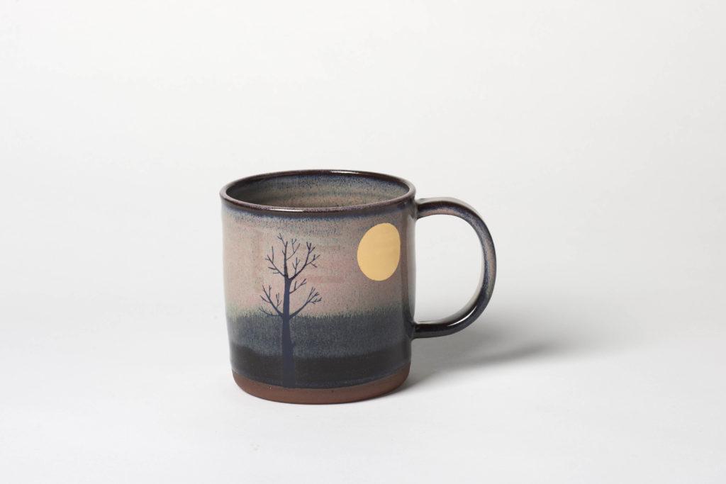 Pink Moon Mug, ~8.5 x 8.5cm, £22 + postage